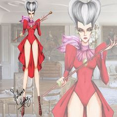 Lady Tremaine in Haute Couture by Guillermo Meraz. Wich will be the next Disney Villain?