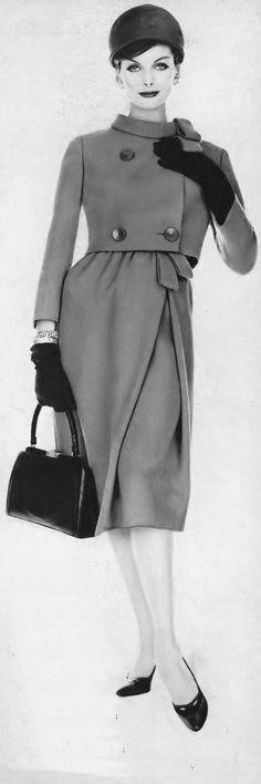Anne St. Marie, photo by Karen Radkai, Vogue, November 1, 1958 | flickr skorver1