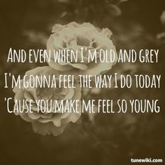 """""""You Make Me Feel So Young"""" by Michael Bublé"""
