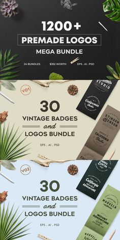 This high quality premium collection of minimal premade logos can be used in your website, blog, fashion, magazine, salon, beauty parlor, photography or different types of agency. You will get minimal logos, signature logos, floral logos, vintage logos all in one bundle. #AffiliateLink Floral Logo, Minimal Logo, Logo Design Template, Signature Logo, Logos, Logo, Flower Logo
