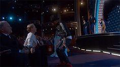 Pharrell Willams Meryl Street Dance Oscars