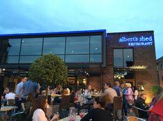 A lovely summer evening outside #albertsshed #castlefield