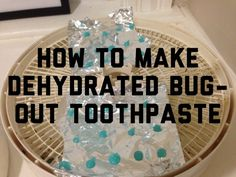 You might not think dehydrated toothpaste blobs are such a novel idea but keep in mind, every little bit of weight savings helps in lightening the load of your bug out bag — making for easier travel when you need it most. #shtf #prepping #survival