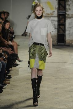 Proenza Schouler RTW Spring 2013 - Runway, Fashion Week, Reviews and Slideshows - WWD.com