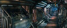 Inside the Alien ship