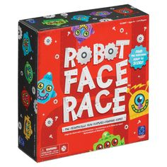Robot Face Race™<br>It's machine madness! A crazy inventor has built dozens of robot bodies and he needs your help finding the perfect heads. Shake the robot identification device to reveal a robot's features. Scan the robot heads on the board until you find the match. Find it first and collect a robot scoring token. The first player with 5 tokens wins! For 2-4 Players.Grades Pre-K+/Ages 4+<br>SMALL PARTS [1]. Not for < 3 yrs.<br><br&g...