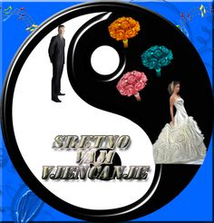 cestitke za: Čestitka za vjenčanje Savršeni sklad