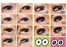Gyaru Makeup, Kawaii Makeup, Hair Makeup, Aesthetic Makeup, Makeup Looks, Make Up, Cosmetics, Beauty, Magazines