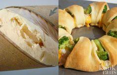 Maak een heerlijk gerecht van croissantdeeg! Croissantdeeg; je hebt de kleine rolletjes van Danerolles vast wel eens in de winkel zien staan. Naast het feit dat je er natuurlijk hartstikke lekkere croissantjes ervan kunt maken is het goedkope deeg ook uitermate geschikt voor andere gerechten. Neem