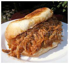 Le palais gourmand: Porc effiloché sauce barbecue à la mijoteuse