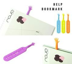 book bookmark creative design inspiration print