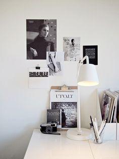 Clean + minimal workspace