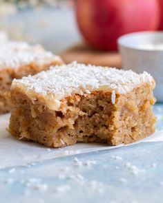 Cookie Desserts, No Bake Desserts, Apple Recipes, Baking Recipes, Sweet Bread, No Bake Cake, Food Inspiration, Baked Goods, Food Porn
