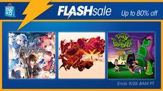 Flash Sale Now: Animation Deals Up to 80% #Playstation4 #PS4 #Sony #videogames #playstation #gamer #games #gaming