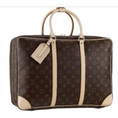 For My Holiday ,Louis Vuitton Monogram Canvas Sirius 45 M41408 Afn-263
