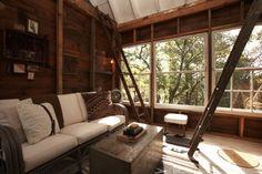 love the cabin look!!