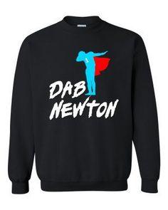 53b526d98 DAB NEWTON Crewneck Sweatshirt. Carolina Panthers SweatshirtCrew Neck SweatshirtT  ShirtGraphic SweatshirtCam ...