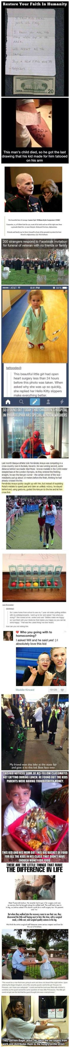 faith in humanity restored i dont know any of these people but i love them