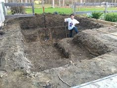 DIY Modern Backyard Koi Pond On A Budget Former renter digs a huge hole in his yard for this crazy i Modern Backyard, Ponds Backyard, Garden Ponds, Koi Ponds, Modern Pond, Outdoor Fish Ponds, Swimming Ponds, Fish Pond Gardens, Koi Fish Pond