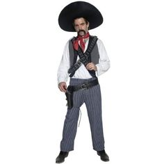Mexican Bandit Costume  Medium  Chest Size 3840 ** Click image for more details.