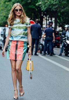 オリビア・パレルモはこの着こなし☆個性派スタイルのコーデ♪スタイル・ファッションの参考にしたいアイデアまとめ♪