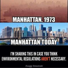 Manhattan. Environmental regulations.