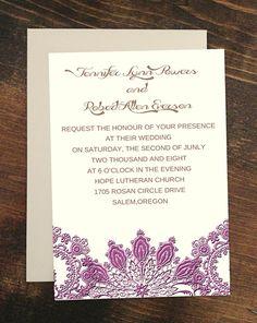 #30daydesignchallengeday1 Radiant Orchid Wedding Ideas