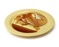 PANCAKE PLATES - SET OF 2 | Jon Wye, Pancake, Reservoir, Breakfast, Slopes, Syrup. | UncommonGoods