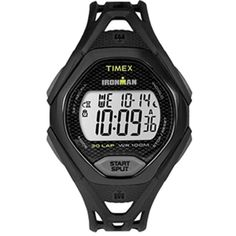 Timex Ironman Sleek 30 Full-size Watch Black for sale online Local Gym, Timex Watches, Black Water, Sport Watches, Watch Brands, The Great Outdoors, Iron Man, Stuff To Buy, Technology