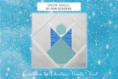Christmas Sewing Projects, Christmas Fabric, Wings Drawing, Winter Quilts, Snow Angels, Winter Solstice, Quilting Tutorials, Christmas Countdown, Fabric Patterns