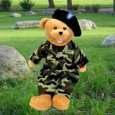 """American Hero Army Bear - """"The Army Goes Rolling Along"""".℗"""