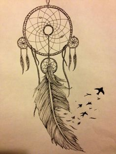 dreamcatcher tattoo design - Buscar con Google