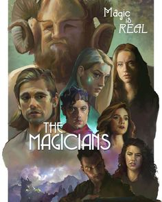 "ArtStation - ""The Magicians"" Fan Art Poster Design, David MacLeod Fantasy Shows, Sci Fi Fantasy, Magician Art, The Magicians Syfy, Harry Potter, Roman, Cinema, Fanart, Movies Showing"