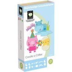 Cricut Shape Cartridge - Create-A-Critter
