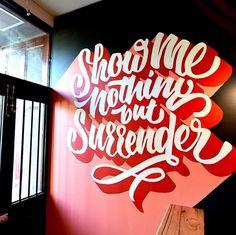 Typography Mania #287 | Abduzeedo Design Inspiration