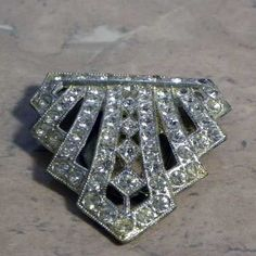 1920s art deco dress clips - Google Search