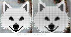 C2c, Bead Loom Patterns, Knit Patterns, X Picture, Dog Pattern, Tapestry Crochet, Knitting Charts, Stuffed Animal Patterns, Plastic Canvas Patterns