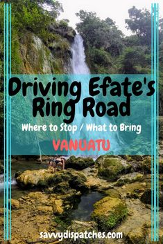 The best places to stop when driving the Ring Road on Efate Island in Vanautu. New Zealand Itinerary, New Zealand Travel, Fiji Travel, Iceland Travel, Usa Travel Guide, Travel Tips, Island Tour, Desert Island, Vanuatu