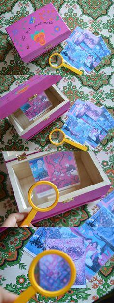 Enfin un nouveau Youpi mercredi, les accrocs vont être rassurées! Je vais essayer de rattraper mon retard et peut-être même qu'ils vont perdurer pendant l'été  Alors aujourd'hui, je vous propose un mini musée pour la classe ou la maison. Il s'agit tout simplement d'une petite boîte en bois dans laquelle [...] Montessori Room, Montessori Toddler, Games For Kids, Diy For Kids, Crafts For Kids, Diy Pour Enfants, Montessori Practical Life, Sensory Boards, Travel Toys