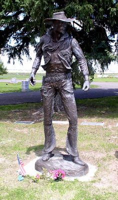 Grave Marker- George Montgomery - American painter, sculptor, furniture craftsman, and stuntman who is best known as an actor in western style film and television.