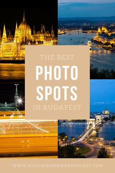 Budapest is the perfect city to master your night photography skills. Find out where to find best Budapest photo spots and get inspired by my mix of photos. Travel Destinations Beach, Europe Travel Tips, Traveling Europe, European Road Trip, European Travel, Hungary Travel, Budapest Travel, Travel Route, European Destination