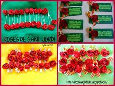 Idees Magistrals: Roses de Sant Jordi