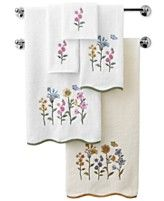 Avanti Bath Towels, Premier Country Floral Collection