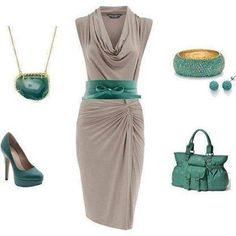 Grey and teal