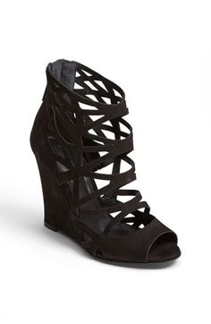 Schutz 'Carlee' Caged Sandal available at #Nordstrom $179