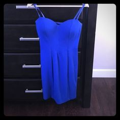 Selling this GUESS Royal Blue Dress in my Poshmark closet! My username is: gabriellesm. #shopmycloset #poshmark #fashion #shopping #style #forsale #Guess #Dresses