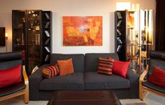 Apartment decorated by my Interior Designer mom & son