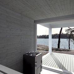 Portable Steam Sauna - We Answer All Your Questions! Villa Rosa, Sauna Design, Outdoor Sauna, Finnish Sauna, Summer Cabins, Coastal Style, Prefab, Architecture Details, Black House