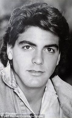 Career beginnings: George Clooney's former colleague at the department store in Kentucky has kept the signed headshots form his early days
