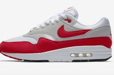 The Nike Air Max 1 Anniversary University Red Arrives Next Week
